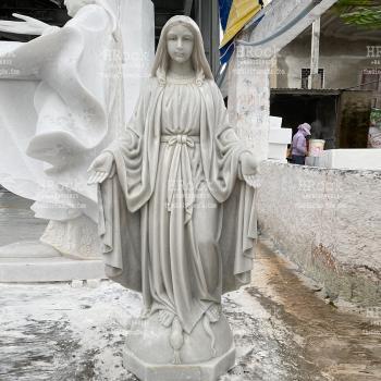 Tượng Đức Mẹ Ban Ơn Bằng Đá Tự Nhiên