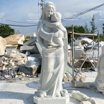 Tượng Đức Mẹ Hi Vọng Đá Trắng