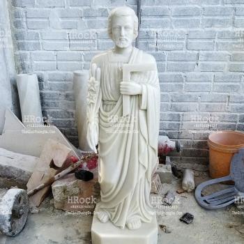 Tượng Thánh Giuse Thợ Bằng Đá