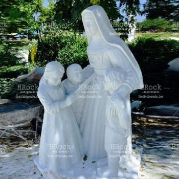 Tượng Bà Thánh Mackillop Đá Điêu Khắc